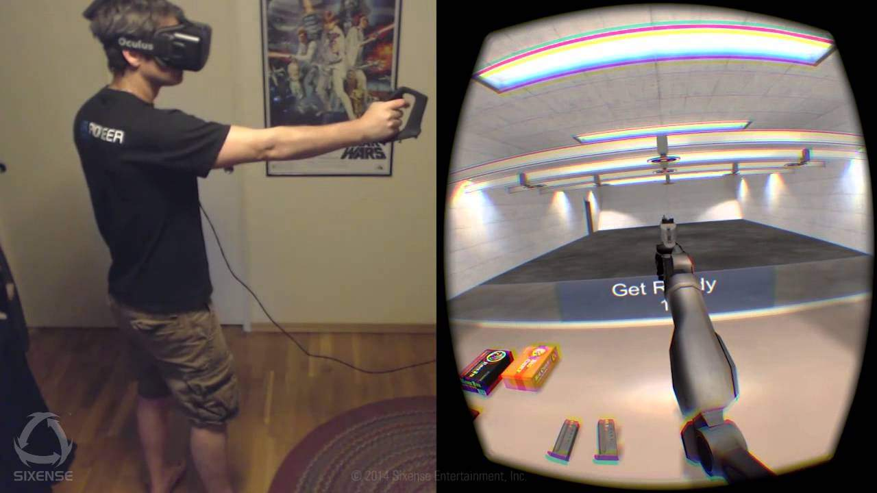 Would you like a virtual gun range in your living room? (VIDEO)