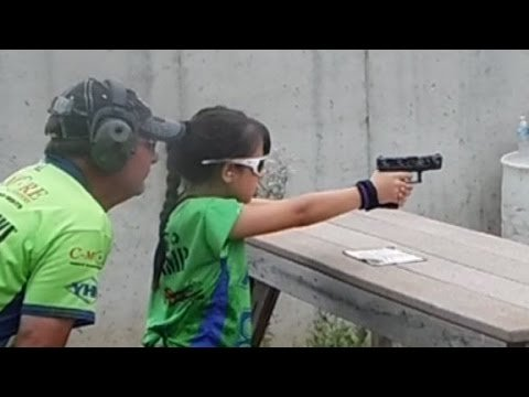"10 Year Old Girl is 3-Gun Shooting Prodigy, Hopes to be an ""Inspiration to Other Kids"" (VIDEO)"