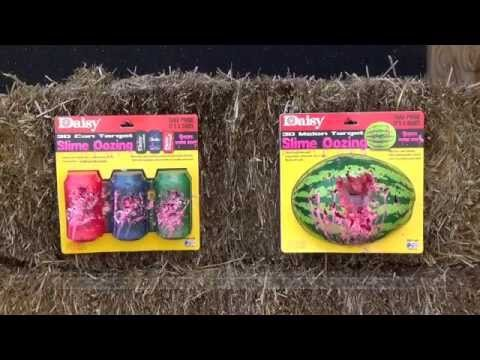 Daisy Oozing Targets – Cans & Watermelon For BB Guns