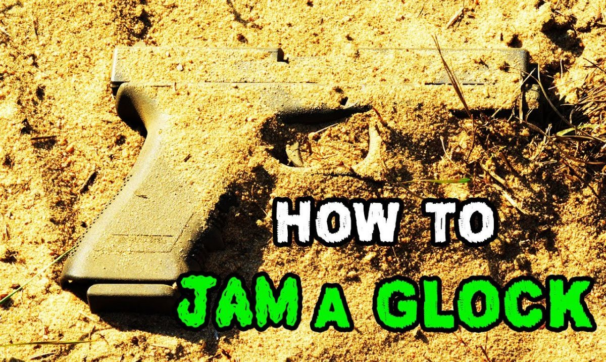 How to jam a Glock (VIDEO)