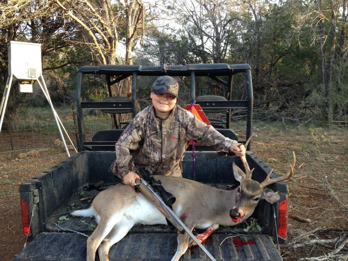 Comal county  buck