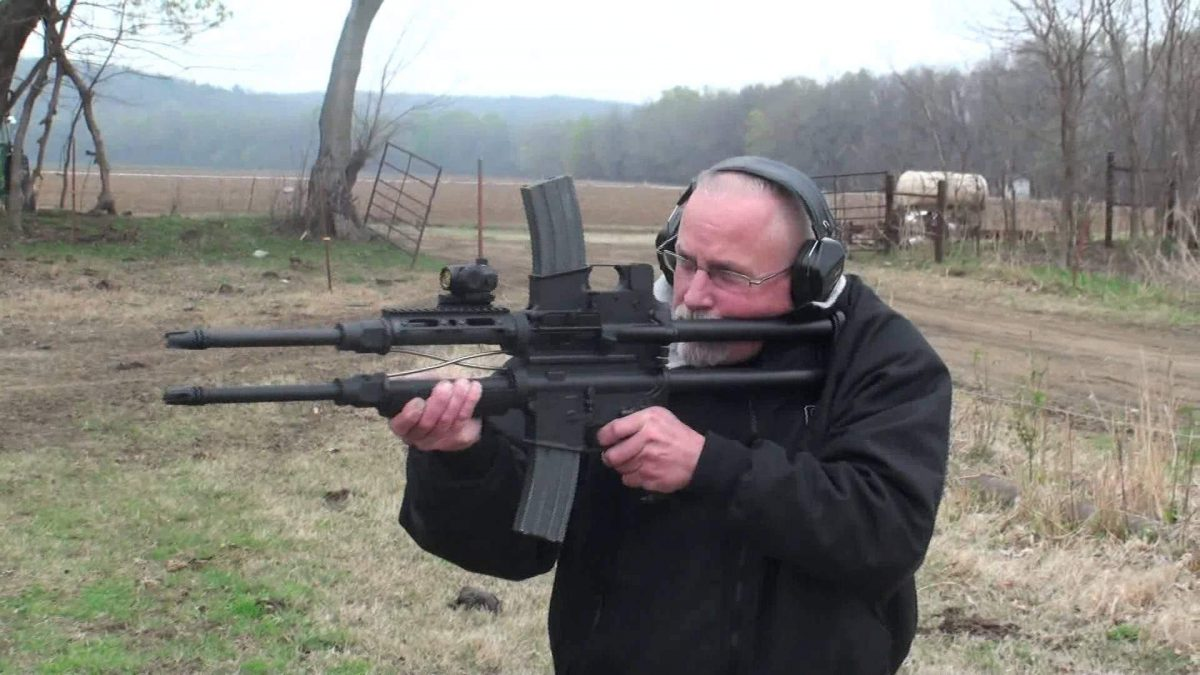 "The ""Siamese"" M16 (VIDEO)"