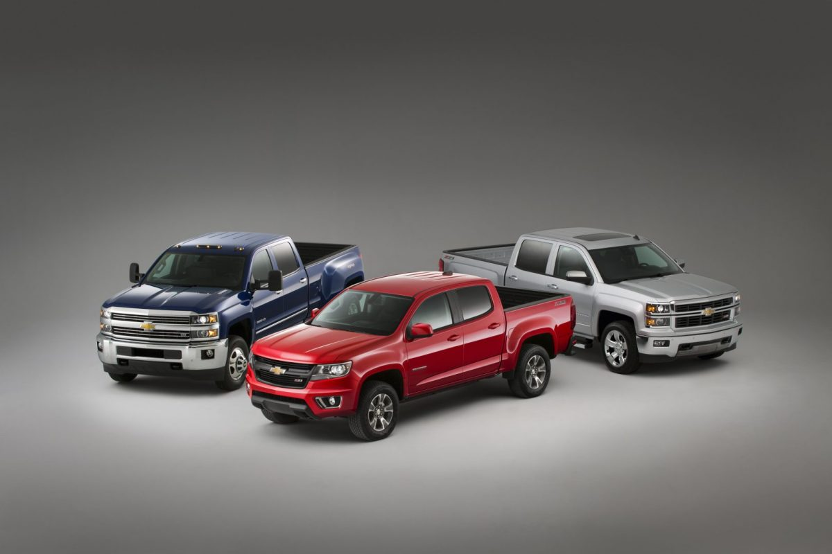 Motor Trend Truck of the Year -- the 2015 Chevy Colorado