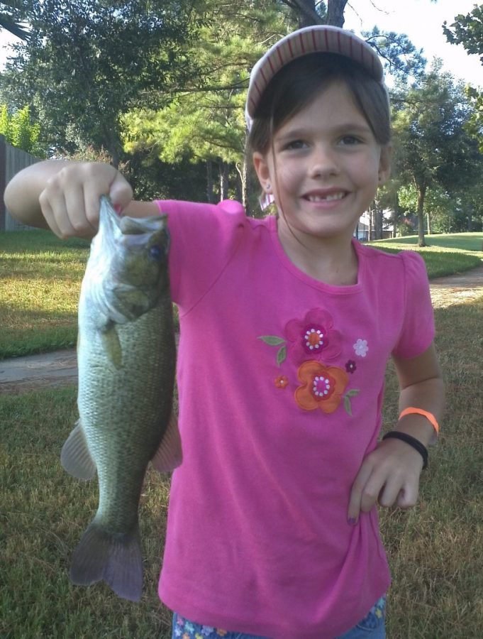 Laney's 1st Fish