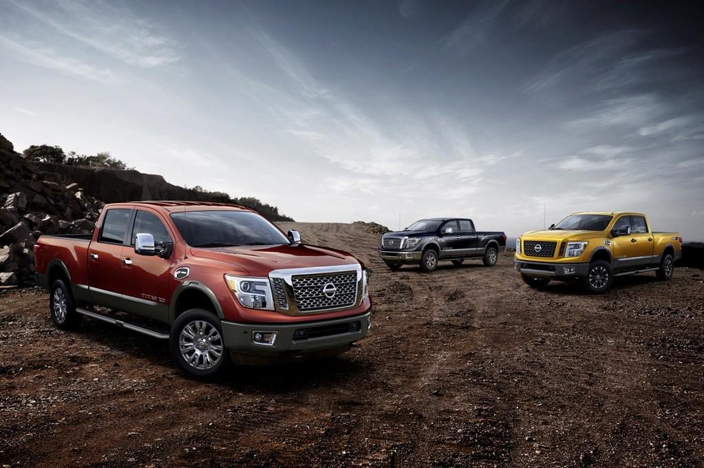 Nissan debuts 2016 Titan XD at Detroit Auto Show
