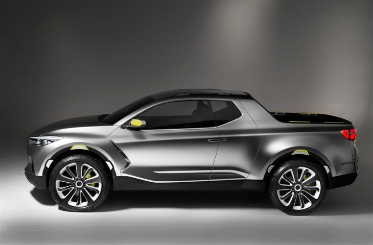 Detroit Auto Show: Hyundai teases with small truck concept