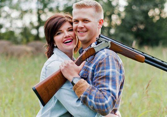 Stephanie-Wehner-and-Mitch-Strobl-shotgun