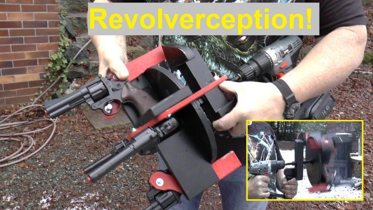 "The ""Fully Automatic"" Revolver Cap Gun (VIDEO)"