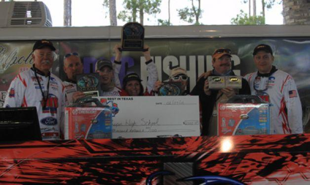 Jasper Team – Reeled in the WIN at the second SETX High School Fishing Tournament of the season