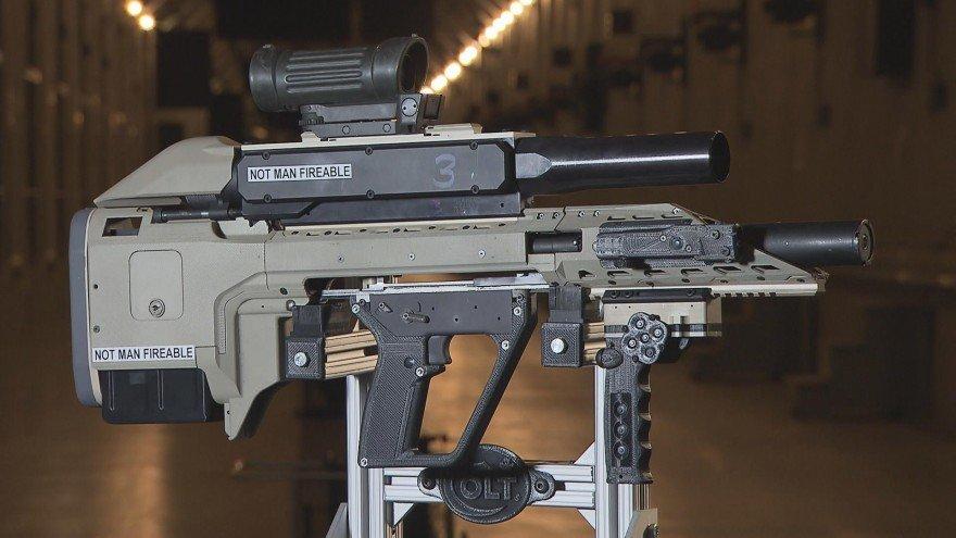"""Canada Unveils Next-generation """"Smart Gun"""" (VIDEO)"""