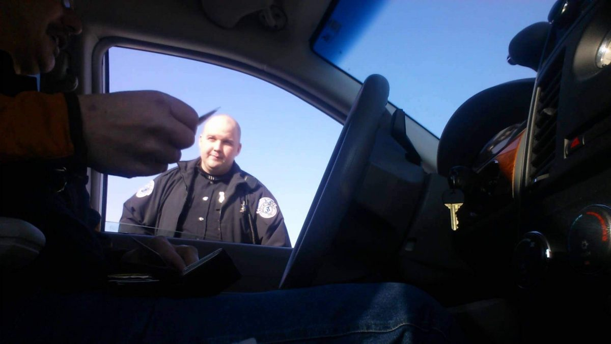 Officer: Hey, Thanks For Carrying A Concealed Firearm (VIDEO)