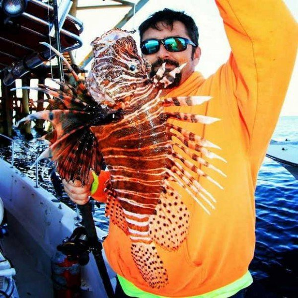 Mississippi Angler Catches Potential World Record Lionfish