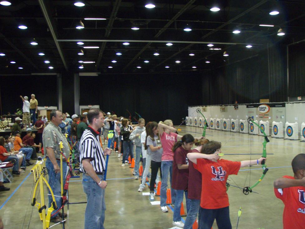 10th Annual School Archery Championship Draws Record 1,600 Kids, 63 Schools to Belton March 4-5