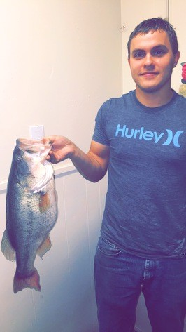 big bass caught near sugarland