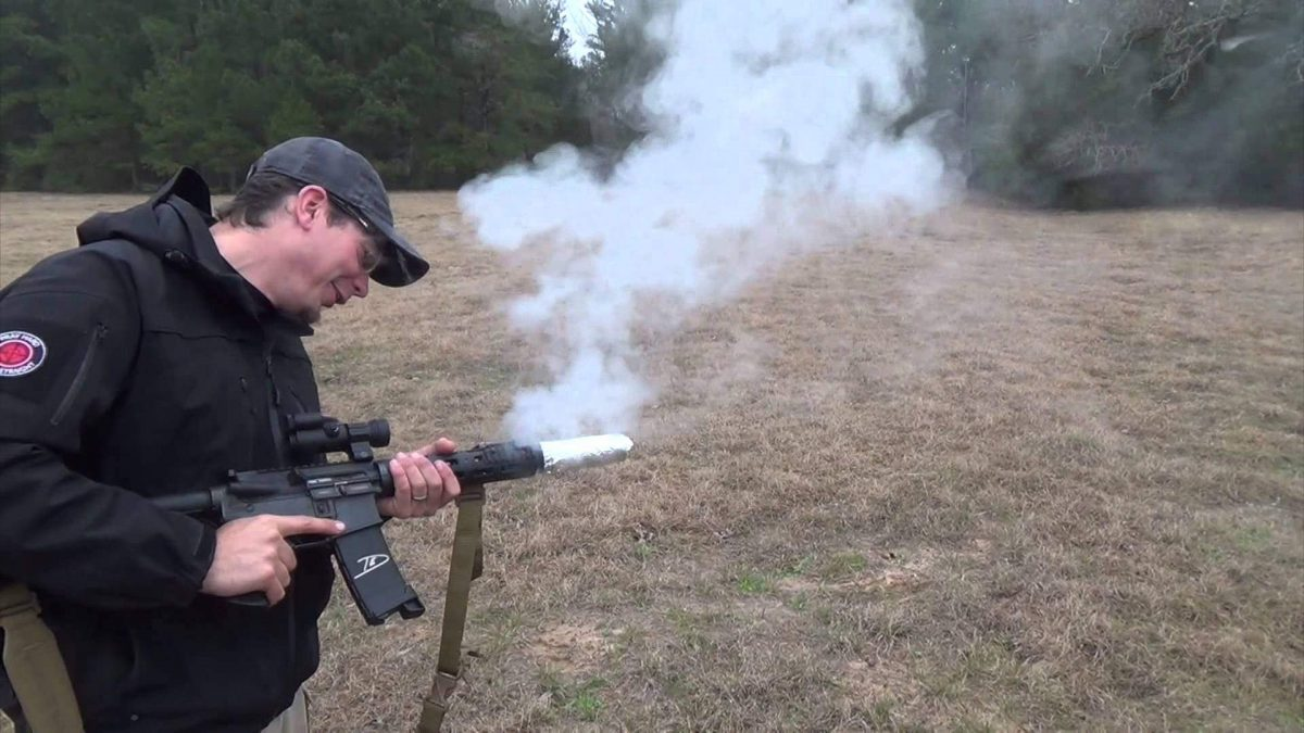 Cooking Bacon with a M16 and Suppressor [VIDEO]