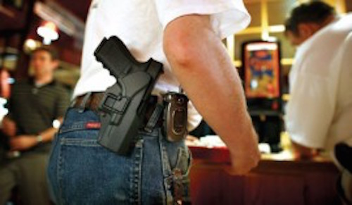 BREAKING: Texas lawmakers OK licensed open carry of handguns