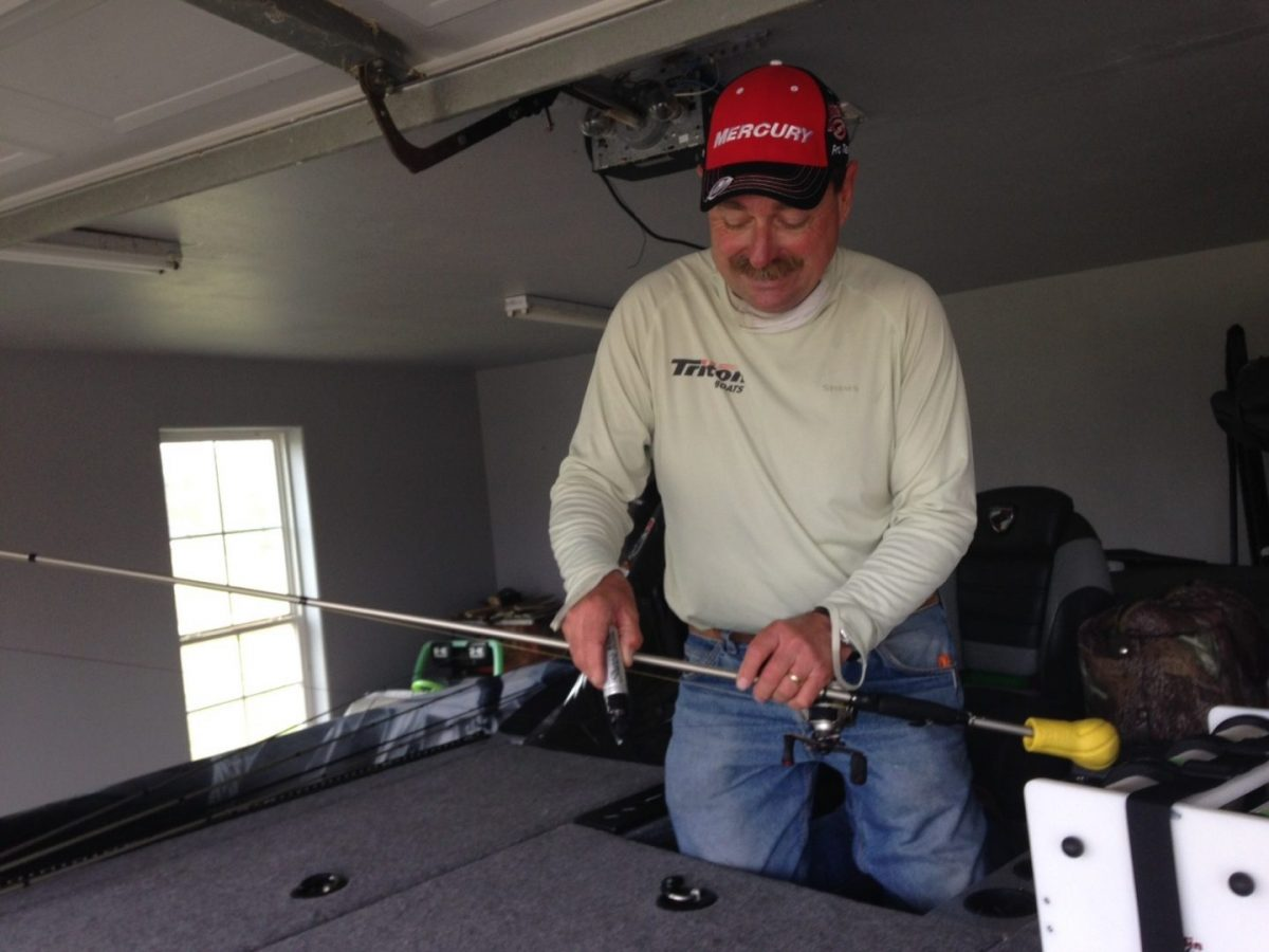 Shaw Grigsby and the art of prepping for a bass tournament