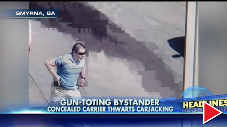 Armed Citizen Shoots Carjacker [VIDEO]