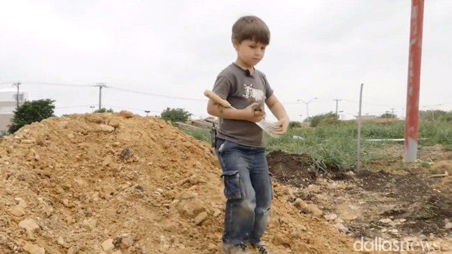 Texas boy, 4, finds 100-million-year-old dinosaur fossil