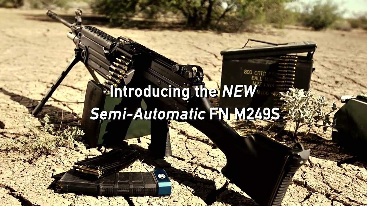WATCH: Semi-Auto SAW Coming to the Civilian Market