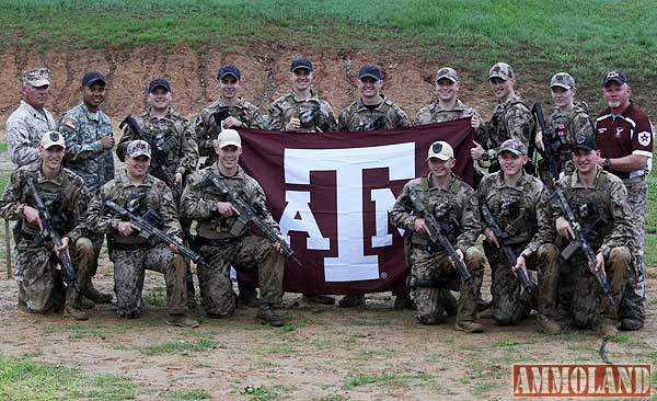 TX A&M Cadets Marksmanship Unit sweeps Military College Combat Shooting Championship