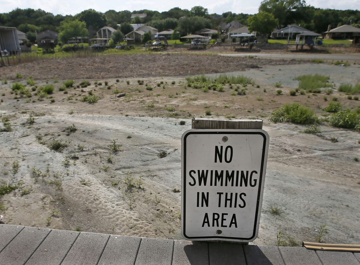 Big changes in lake levels