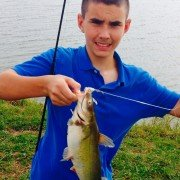 Sons biggest catch form Lake Pat Cleburne