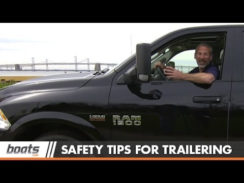 Boat Trailering Safety: Tips and Tricks