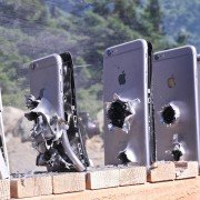 How many iPhones does it take to stop a bullet? (VIDEO)