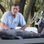 Massive State Record Blue Catfish Caught in Florida