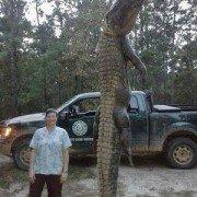Massive alligator killed behind house at Rayburn, suspected in killing neighborhood pets