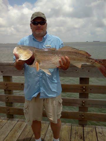 Big red fish