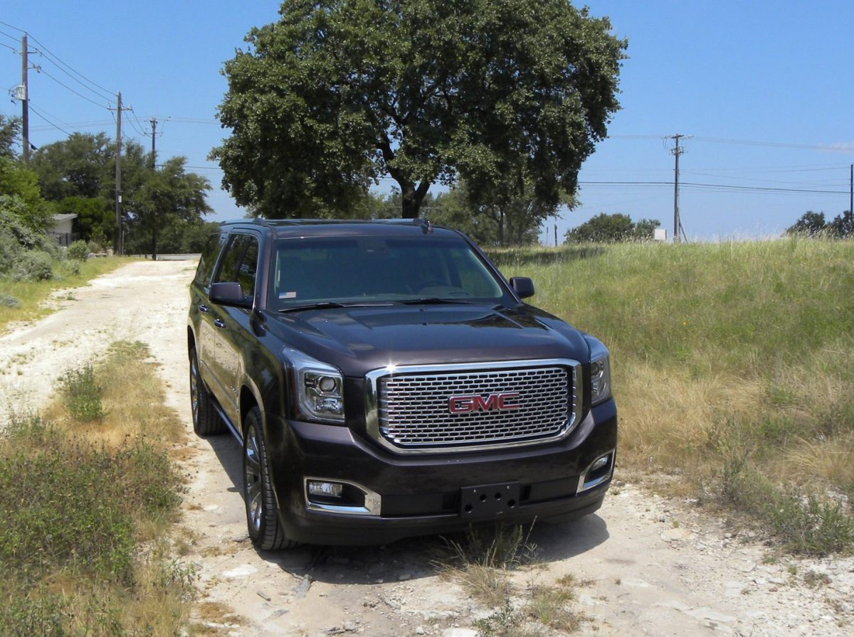 Rising Texas temperatures?  Up north travel in GMC Yukon Denali is perfect fit