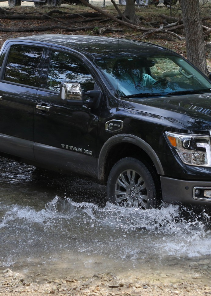 2016 Nissan Titan XD Turbodiesel V8 is the Truck of Texas