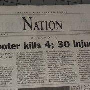 Newspaper headlines OSU homecoming car crash as mass shooting