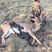 """My Son's First Deer"""