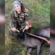 14-year-old Hunter Bags Ultra Rare Black Whitetail Buck