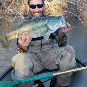 8 lb Largmouth off the Gadalupe River