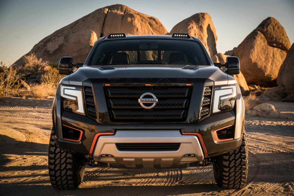 Nissan shows Titan Warrior concept
