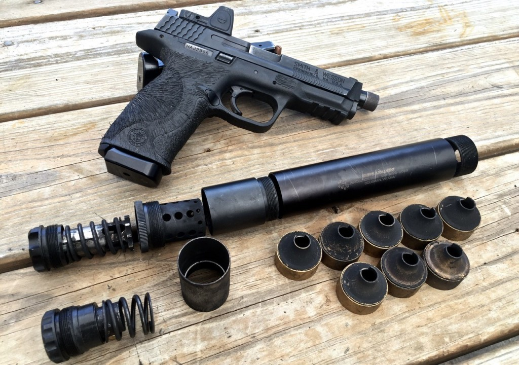 Griffin Armament 9mm Revolution Suppressor Review