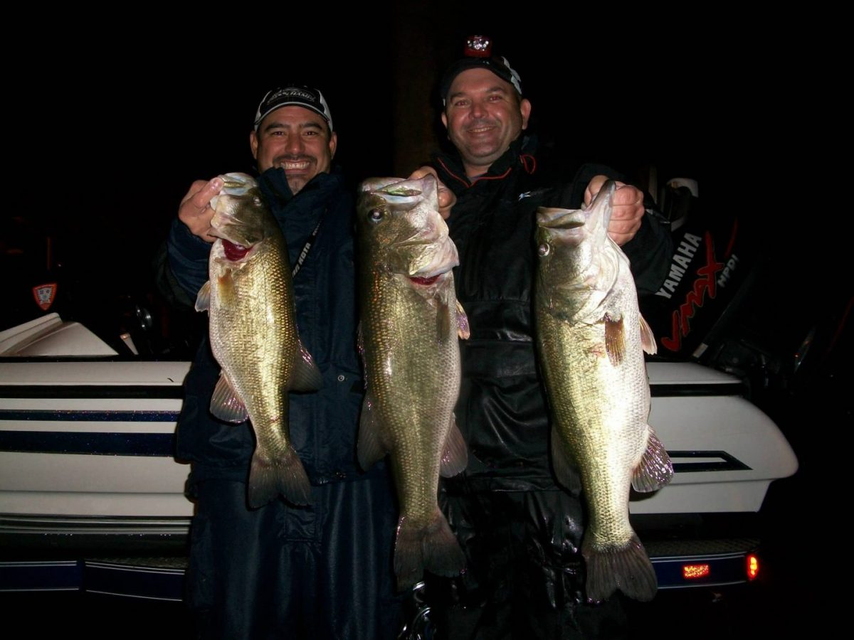 Triple Bass on 4Lbs Mono