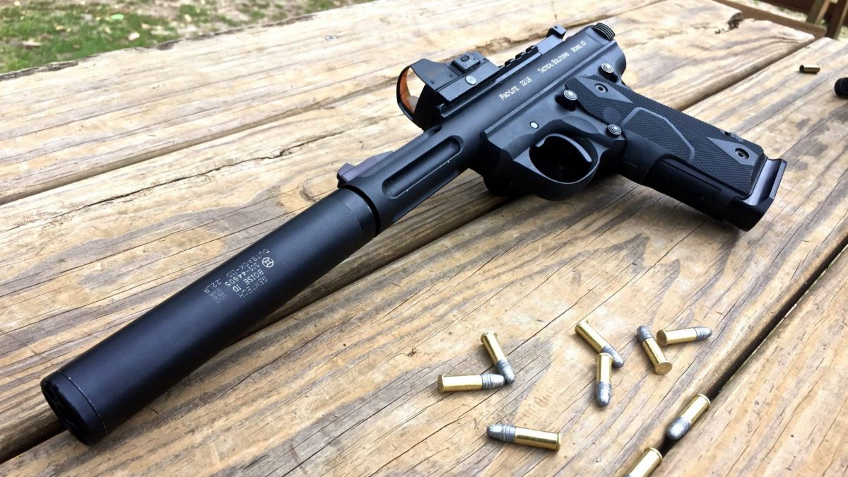 Gemtech GM-22 .22LR Suppressor