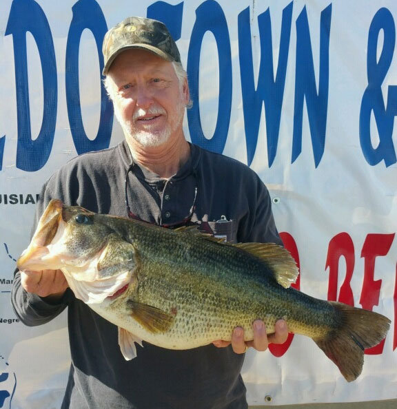 And the big bass keep coming from Toledo Bend