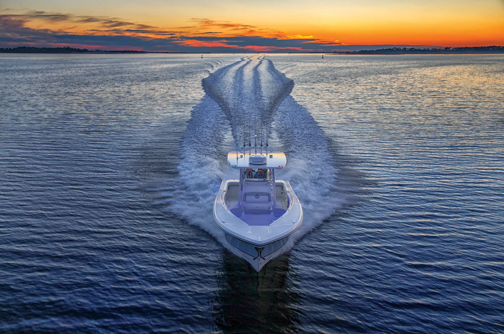 A Rockin' Cool New Mako - Yes, Mako - Fishboat