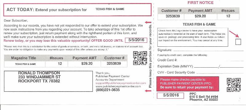Subscription Renewal Fraud Alert!