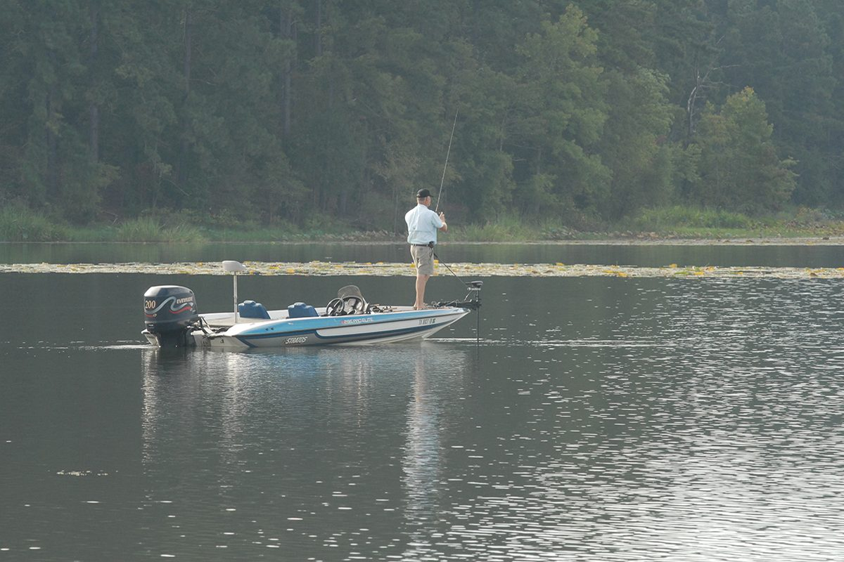 Three Leased Public Fishing Access Areas Open for White Bass Anglers