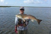Freshwater runoff doesn't affect the bite that much in Matagorda Bay