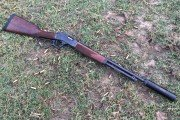 Silenced 357 Henry Steel Carbine