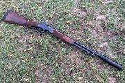 Silenced 357 Henry Steel Carbine