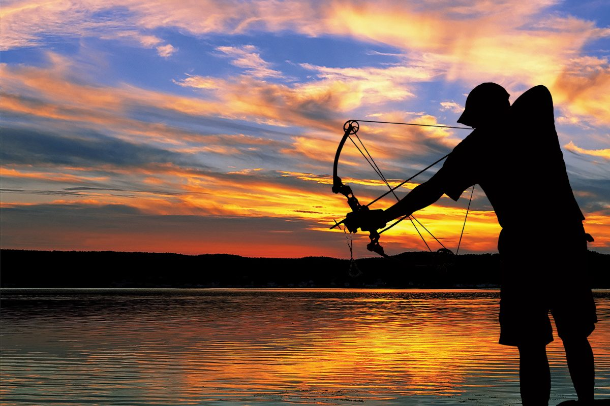 Aim low think bow top rivers and lakes for bowfishing for Bow fishing bow